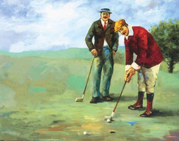etimologia della parola golf